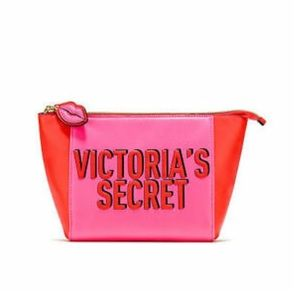 Victoria's Secret Red Cosmetic Bag